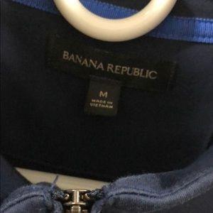 Banana Republic Shirts - Men's Banana Republic Mick Neck Cotton Top Medium